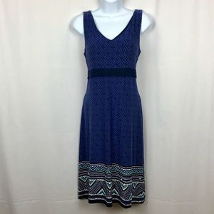 Athleta knit sleeveless dress L